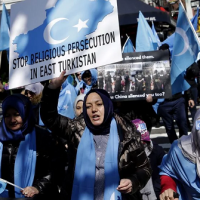Exiled Uyghurs submit evidence related to China's internment camps
