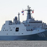 China to position eight landing craft near Taiwan