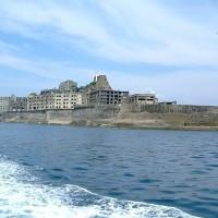 端島,俗稱軍艦島(圖/長崎市官方觀光網站)