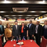 Delegation from Belize visits Taiwan food factory