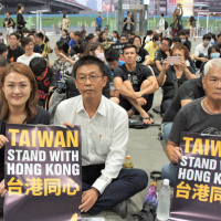 Events held across Taiwan to show solidarity with Hong Kong