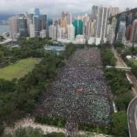 Hong Kong protester organizer hopes for peace at Sunday rally