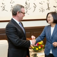 Taiwan president tells China not to blame nonexistent forces for Hong Kong tension