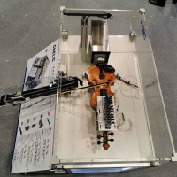 Taiwan company shows off violin played via machine learning