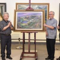 李元亨83歲藝術回顧展 首位法國藝術家沙龍繪畫亞裔評委