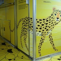 Leopard cat design on Taiwan trains criticized for resembling leopard