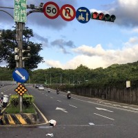 New Taipei police officer killed in high-speed scooter chase