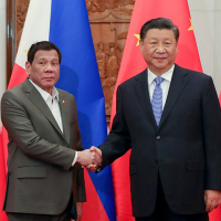 Xi rejects Duterte's demand to abide by Hague ruling on S. China Sea