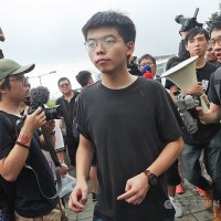 黃之鋒訪台前被捕 林佳龍籲尊重人權、公平對待