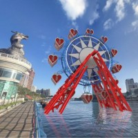 Han claims work on Kaohsiung's 'Love Ferris Wheel' to start next year