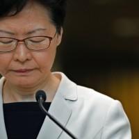 《路透社》稱北京指令特首林鄭月娥 拒絕五大訴求