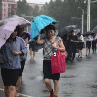 Typhoon kills 3 in South Korea before moving to North Korea