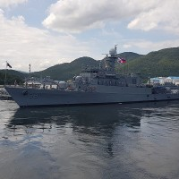 Philippine Navy sailed through Taiwan Strait escorted by Coast Guard