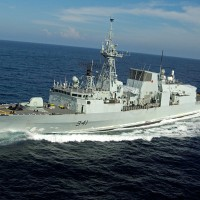Canadian Navy frigate makes transit through Taiwan Strait