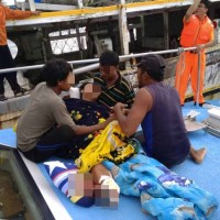 Indonesian man loses leg in Taiwanese fishing boat accident