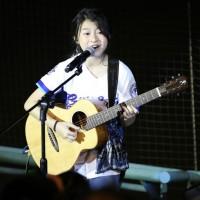 泰國音樂神童Gail為悍將開球 新北棒球場開唱