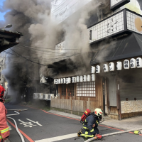 New Taipei sushi restaurant heavily damaged by fire