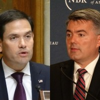 Rubio (left), Gardner (right).