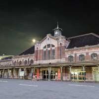 Photo of the Day: Moon over old Taichung Station