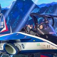 President Tsai unveils prototype for Taiwan's advanced jet trainers