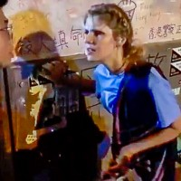 Western woman pontificates to HK protesters: 'Safety is more important than freedom'
