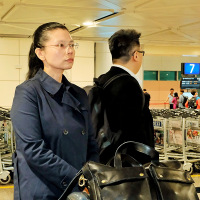 Lee Ching-yu returns to Taiwan without husband after bid to secure his temporary release