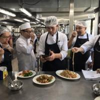 泰航空廚來台取經    攜25道台菜精髓回國納入航線菜單