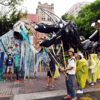 Environmental activists demand action in Taiwan on climate change