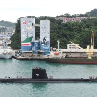 Taiwan public gets glimpse of world's longest-serving submarine