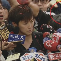 Member of White Wolf's pro-China pack culprit behind paint attack on HK activist in Taipei
