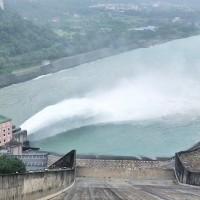 防範米塔颱風帶來豪雨 石門水庫調節性放水