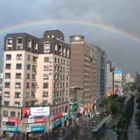 【獨家視角】昨天那道彩虹~你也看到了嗎?