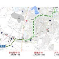 Taichung wants green light on MRT Green Line extension project