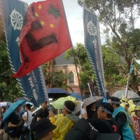 Thousands march in Taipei in solidarity with Hong Kong protesters