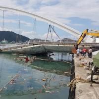【南方澳斷橋】坍塌原因為何?檢調赴亞新追查原因