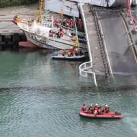 南方澳斷橋釀災    移民署現場助辨識傷亡移工
