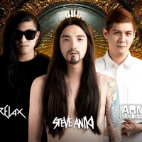 Taiwan club spoofs famous EDM DJs for Halloween party in Taichung