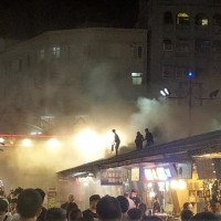 Dongdamen Night Market in E. Taiwan has yet another fire