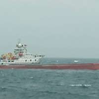 Ship capsizes in Taiwan Strait, rescue vessels dispatched from Taiwan and China