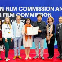 台北釜山影視合作備忘錄 國際影委會齊見證
