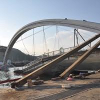 Rebuilding collapsed Taiwan bridge estimated to cost NT$520 million