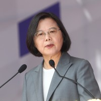 Tsai pledges to defend Taiwan, calls Beijing's 'one country, two systems' a failure