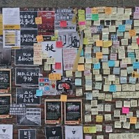 Vandalism of Lennon Walls reflects collective anxiety of Chinese students: scholar