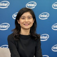 Intel Sales and Marketing Group General Manager Wang Jia-hui