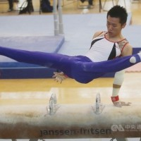 Taiwan gymnast wins pommel horse silver at world championships