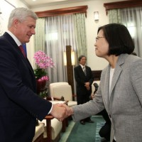 China throws tantrum over former Canadian PM's visit to Taiwan