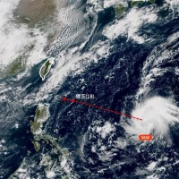 Yet another typhoon taking shape to east of Taiwan