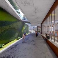 捷運直達兩廳院將成真 多功能地下廊道具設計感