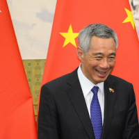 Singaporean leader takes communist party line on unrest in Hong Kong
