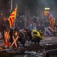 獨立運動領袖遭判刑 加泰隆尼亞衝突激化至少60傷